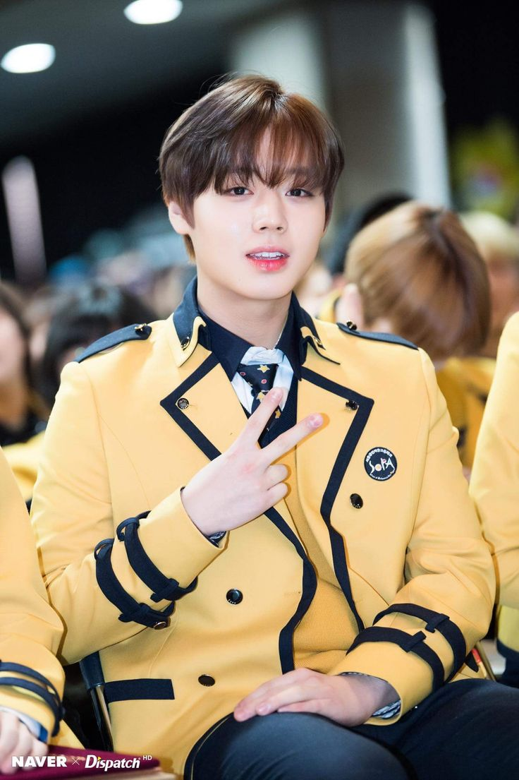 Wanna-One - Park Jihoon - Congratulations for graduating from high school!