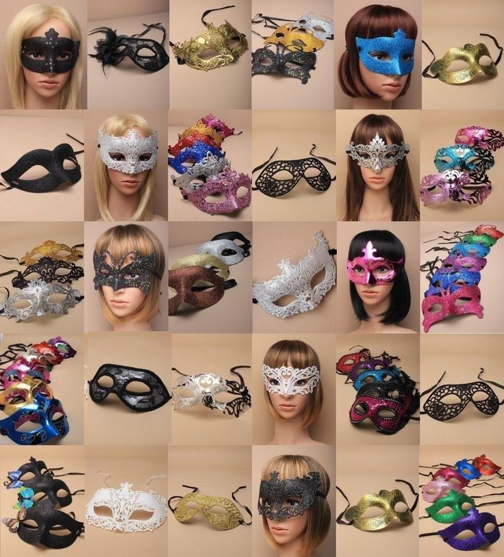PACK OF WHOLESALE : BULK MASQUERADE / PARTY MASKS : CHOOSE PACK SIZE : 10-5000