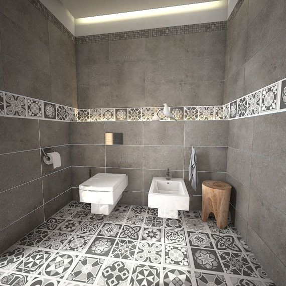 Wall Decals The Perfect Stick On Design Modern Bathroom Design Small Bathroom Modern Bathroom