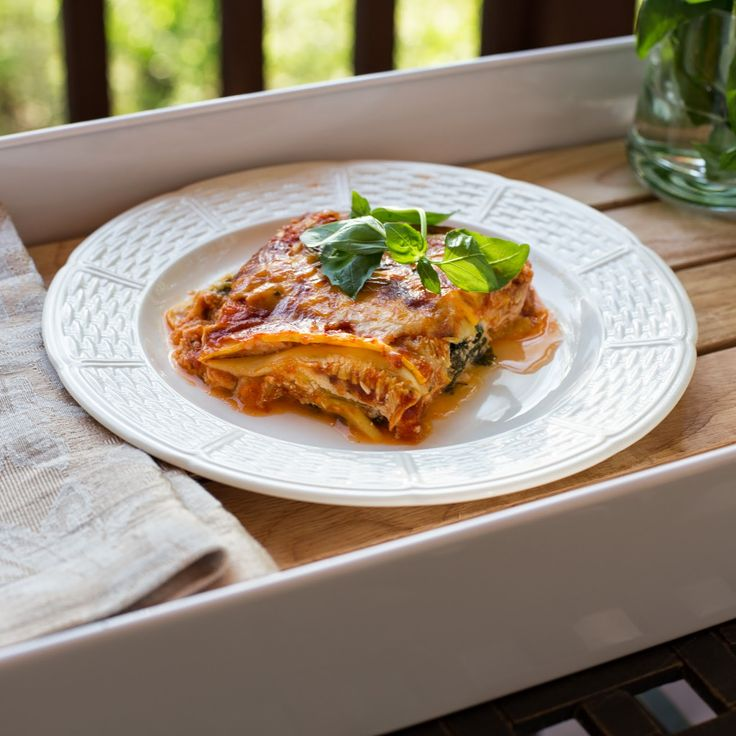 Straight to the Hips, Baby: Summer Squash Lasagna; now THIS was delicious and a blast to make. I was waiting for a reason to use my new mandolin, and this was it! HealthIER than lasagna made with pasta, but still has all the delicious cheeses and sauce, etc.