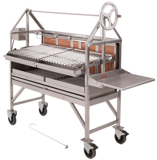Grillworks Inc. makes the best wood grills on the market. - Features