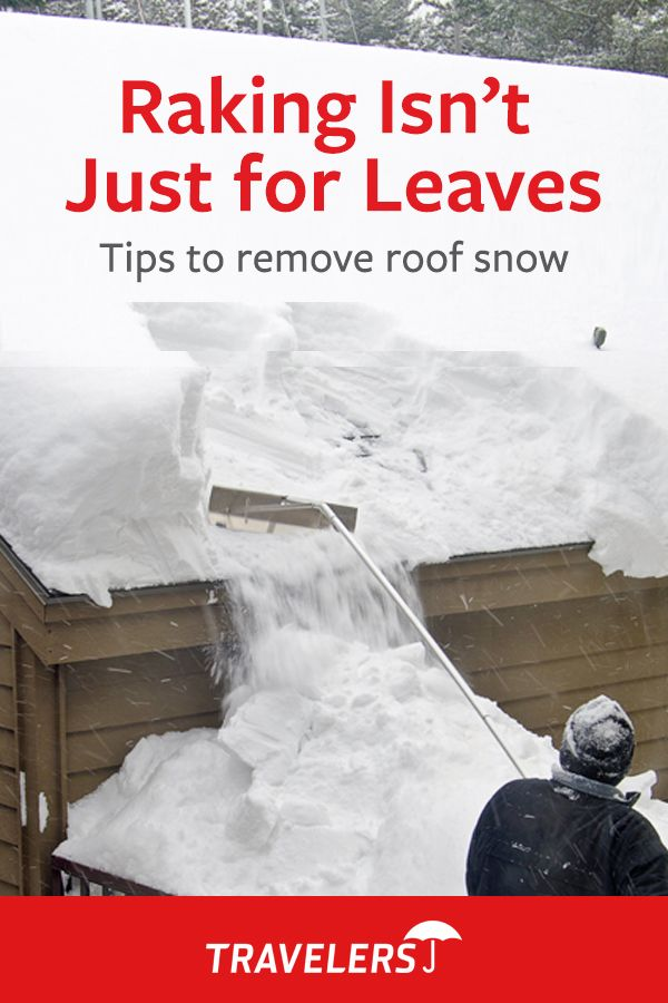 Heavy Snow Is Coming Your Way Help Avoid Roof Damage By Removing Snow See These Tips Https Travl Rs 2dzypnt Snow Removal Roof Damage Winter Safety