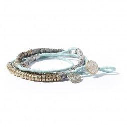 Noosa Amsterdam Armband Nivkh Amulett turquoise