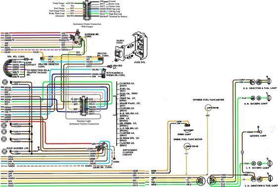 67-72 Chevy Wiring Diagram | Chevy trucks, 72 chevy truck ...