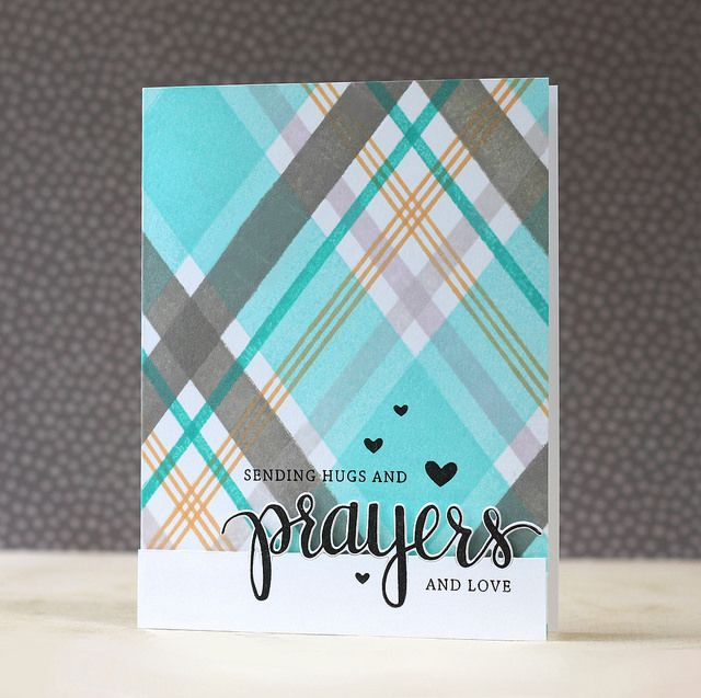 Created by Laura Bassen using the STAMPtember Exclusive set by Hero Arts for Simon Says Stamp.