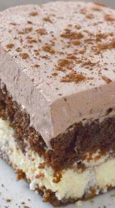 Chocolate Italian Cake. == SOUNDS DELICIOUS, MUST TRY THIS SOON. ===