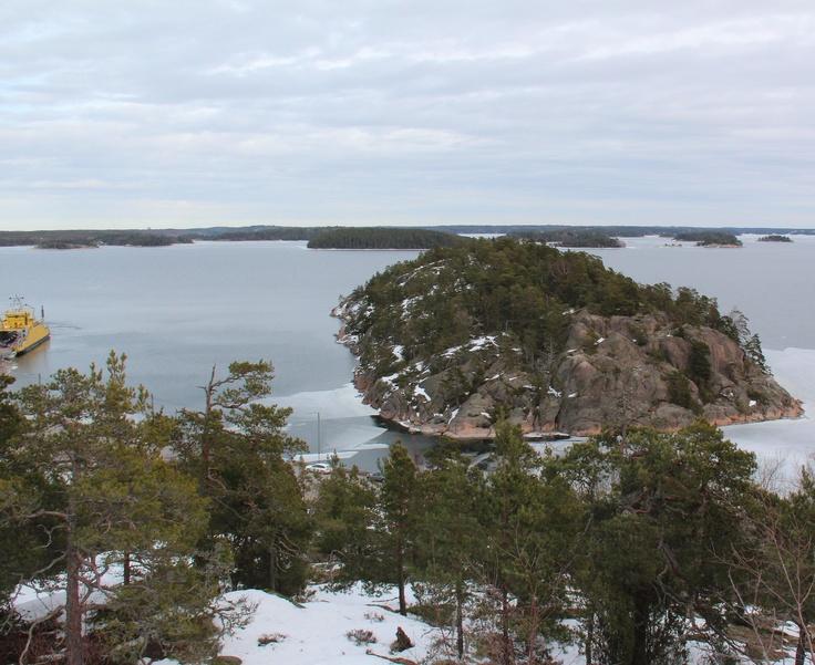 Kalvi and Parainen-Nauvo ferry