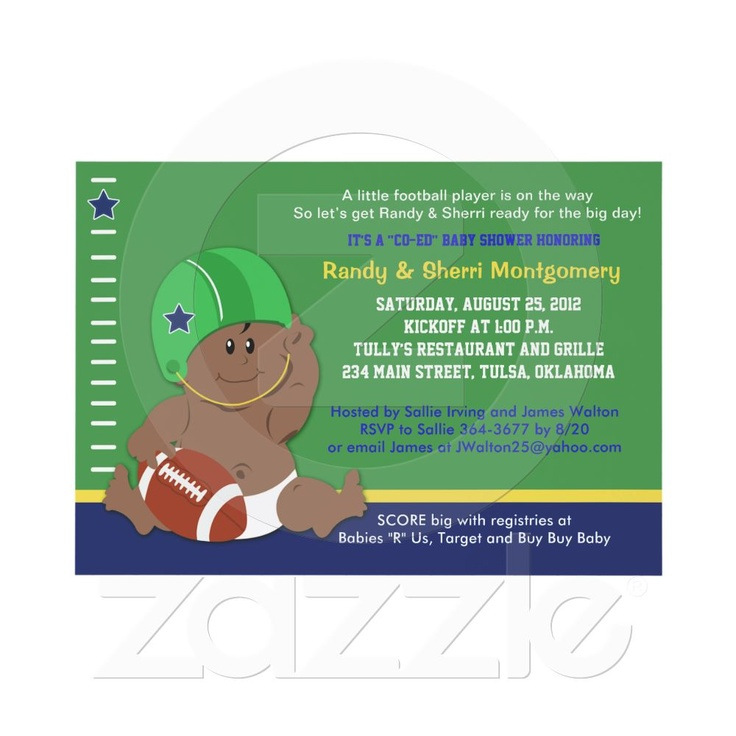 38 best Baby shower images on Pinterest Football parties - email baby shower invitation templates