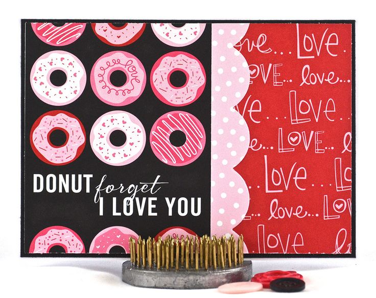 29 best Donuts images on Pinterest  Coffee cards Cards and Card