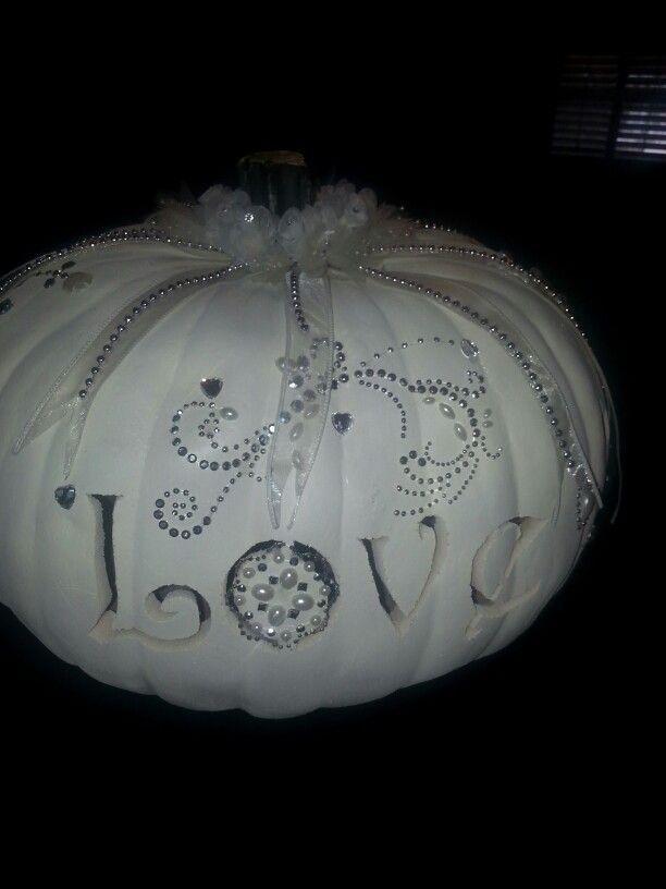 Wedding pumpkin for Danielle