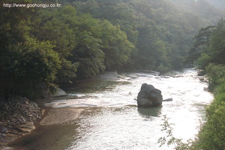 Nakdong River of South Korea