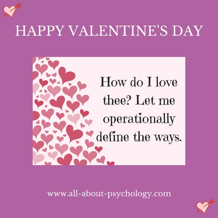Share To Wish Someone A Happy Valentineu0027s Day Psychology Style! #psychology  #ValentinesDay #
