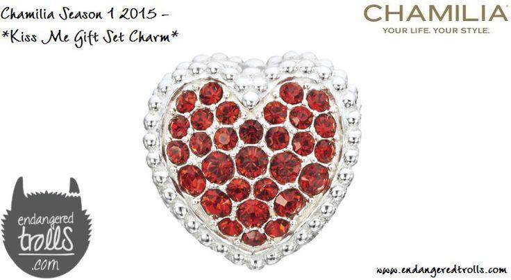 Chamilia Kiss Me Gift Set (limited edition)