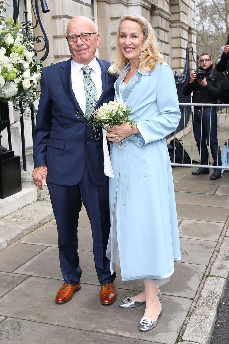 Jerry Hall and Rupert Murdoch Host a Lavish Wedding Celebration