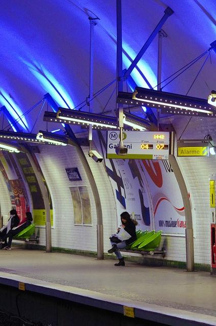 Paris, le métro Gambetta 7 (fr)
