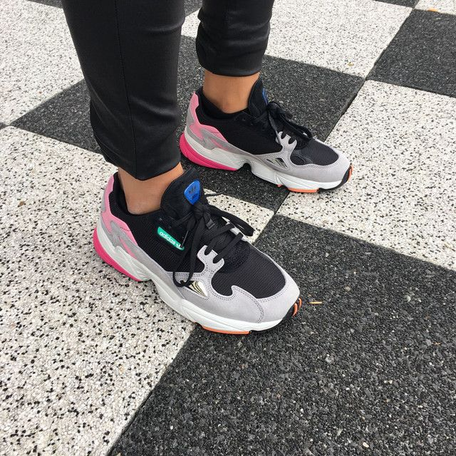 Adidas Falcon, Dad Sneakers, The Ivory Diary | Street Style