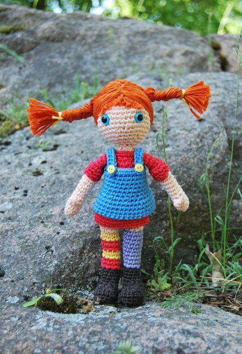 Pippi Longstocking Amigurumi