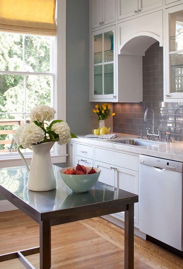 Kitchen Backsplash Grey Subway Tile 147 best subway tile images on pinterest   home, kitchen and