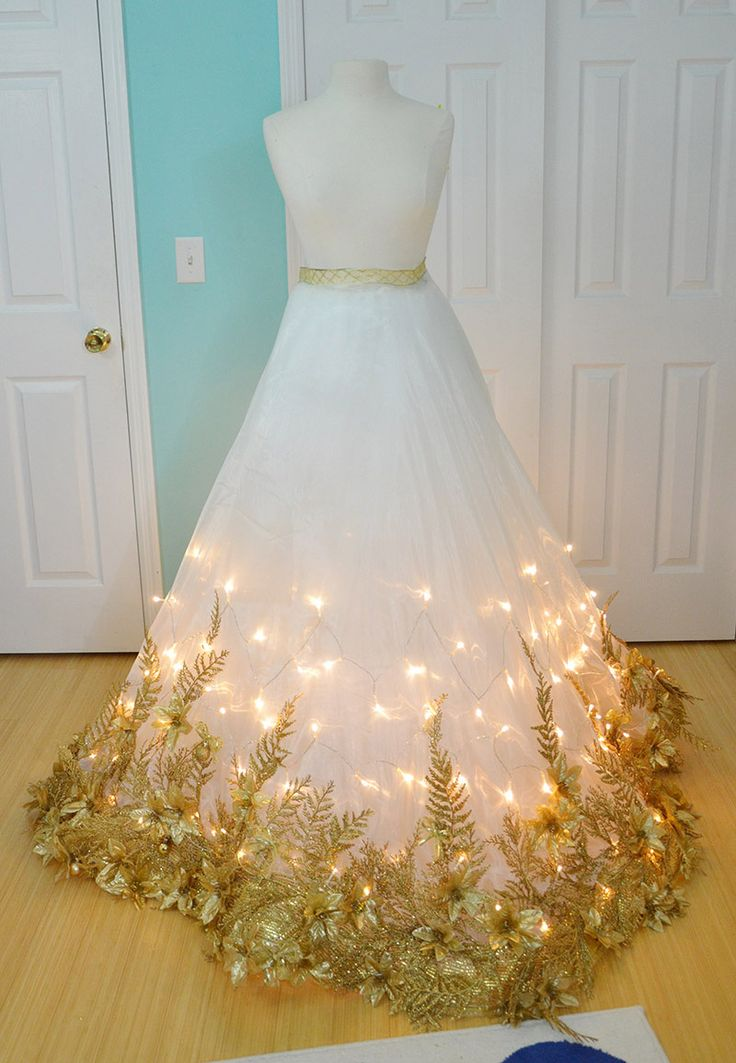 49 best dress images on pinterest fashion plates historical making a christmas angel costume part one solutioingenieria Gallery