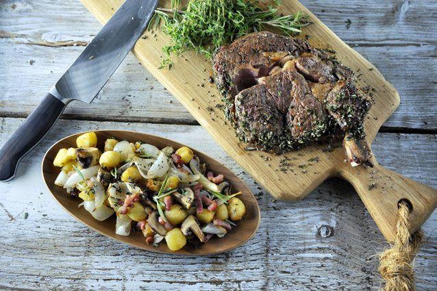 Côte de Boeuf uit de Airfryer (The Philips Chef)