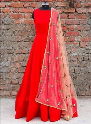 BOLLYWOOD ANARKALI SALWAR KAMEEZ INDIAN PAKISTANI DESIGNER ETHNIC DRESS SUIT | Clothing, Shoes & Accessories, Cultural & Ethnic Clothing, India & Pakistan | eBay!
