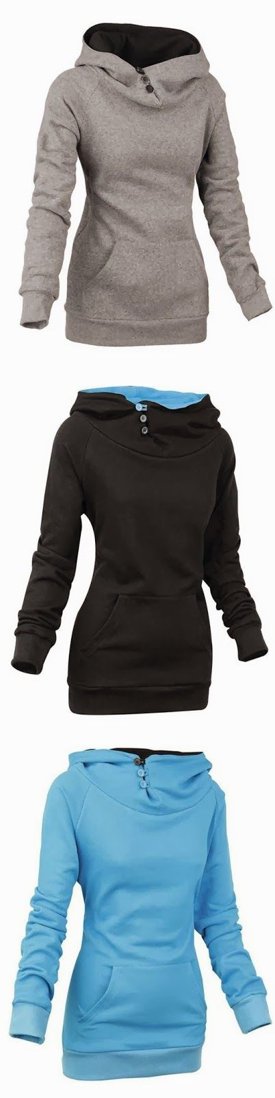 Comfy and Cozy long sleeve women hoodie