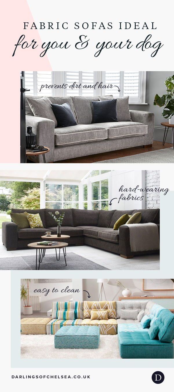 Fabric And Leather Sofas For Pet Lovers Modern Leather Sofa