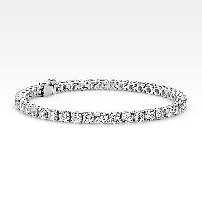 Diamond Tennis Bracelets- 7 ct Blue Nile
