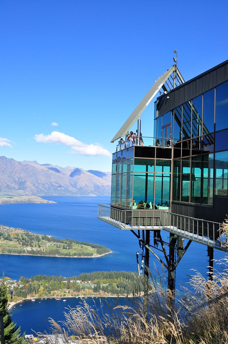 Queenstown - New Zealand.   It was fun going up to the top in a cable car and riding down on the luge after lunch.