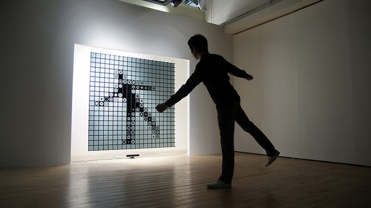 1 | This Giant Interactive Mirror Turns Viewers Into Pixels | Co.Design: business + innovation + design