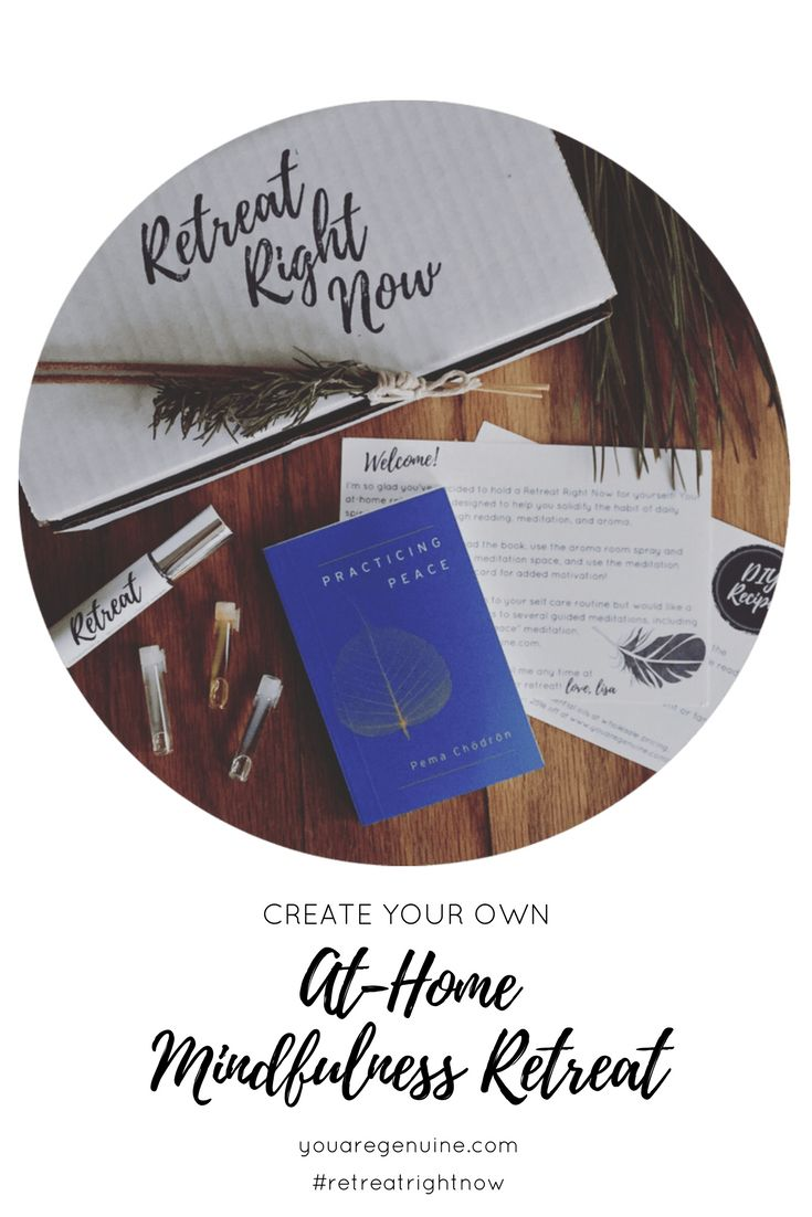 If you've ever been to a mindfulness retreat, you know the makings of a relaxing one: a calming and supportive atmosphere, a wise teacher, and sweet self-care.  It's my belief that, regardless of your livestyle, location, or finances, you should be able to enjoy the solace and peace of a retreat!  The Retreat Right Now care kit is dedicated to helping you solidify the habit of daily spiritual self-care through reading, meditation, and aroma.