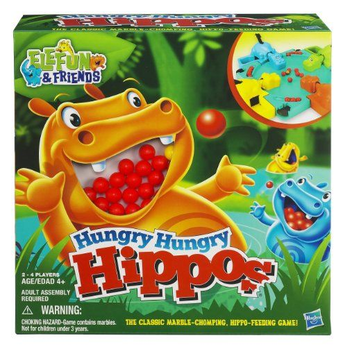 Hasbro Hungry Hippos - http://www.tutorfrog.com/hasbro-hungry-hippos-2/  #Toys #Coolproducts #Bestsellers