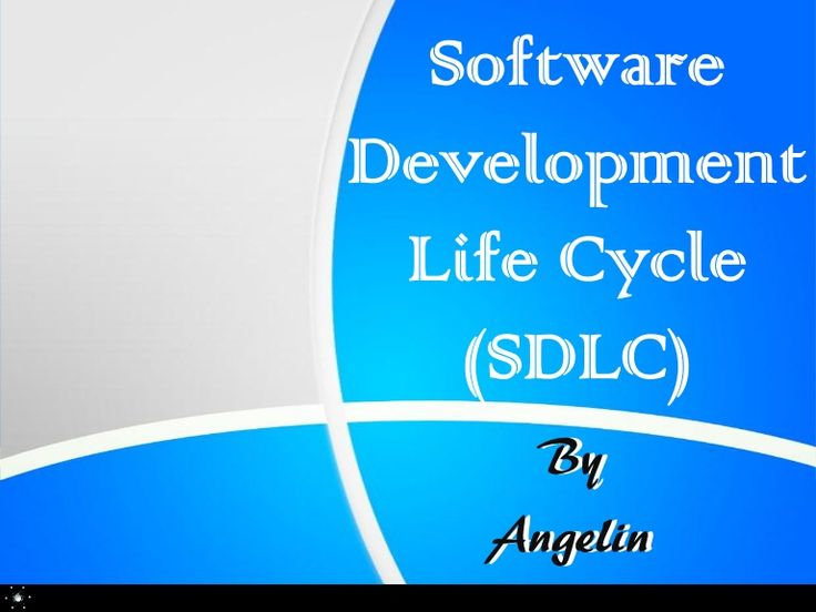 Software Development Life Cycle (SDLC) ~ by Angelin R via Slideshare