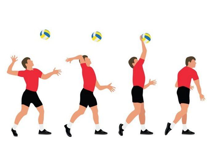 Teknik Cara Servisbawah Pada Permainan Bola Voli