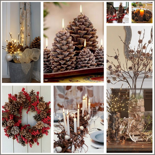 Insp rate en la naturaleza para decorar tu casa esta for Ideas para christmas de navidad