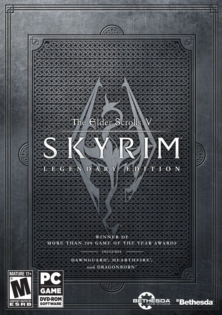 The Elder Scrolls V: #Skyrim Legendary Edition (PlayStation 3, Xbox 360 and PC)
