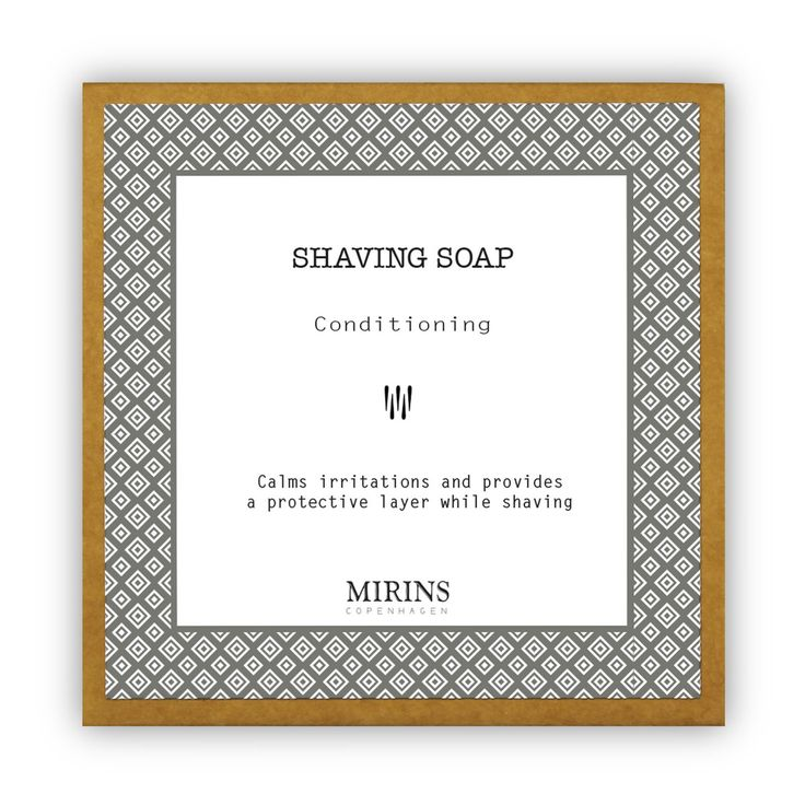 Shaving Soap with White Clay  White clay provides a protective layer to the skin while essential oils calm irritation caused by shaving.