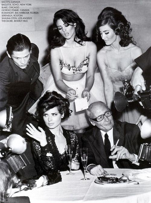 Dolce & Gabbana Spring 1992 - Isabella Rossellini and Monica Bellucci - Steven Meisel