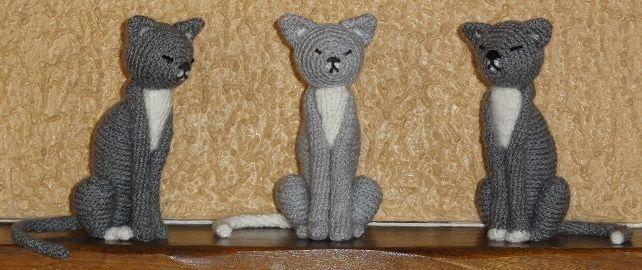 amigurumi capcrochet crochet animaux chat amineko