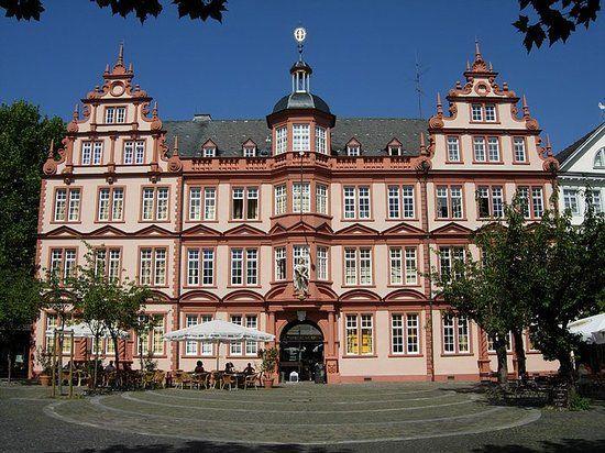 Gutenberg Museum, Mainz, Germany -- view an original Gutenberg bible