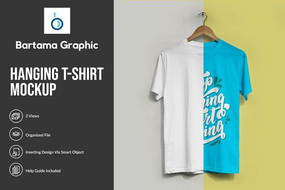 Download Hanging T Shirt Mockup Tshirt Mockup Shirt Mockup Mockup