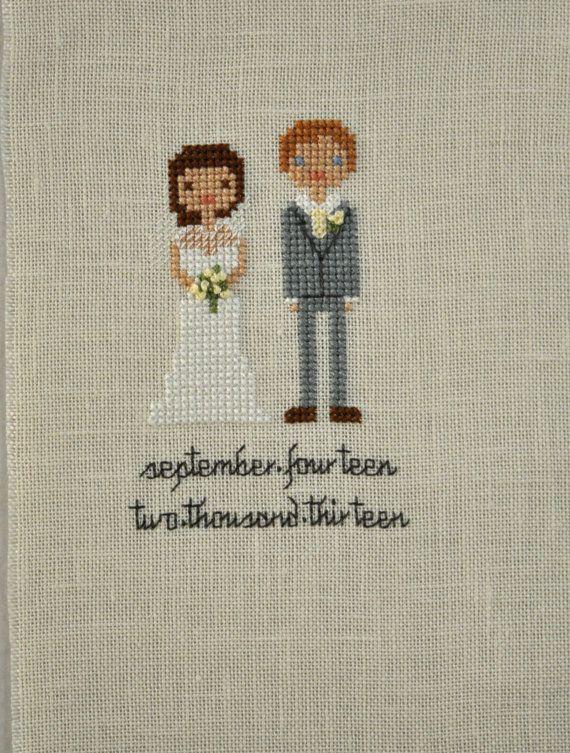 https://www.etsy.com/listing/191579467/custom-wedding-cross-stitch-portrait