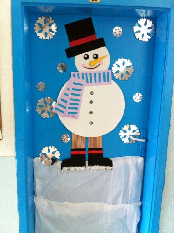 Kışın çocukları kardanadam karşılar :)