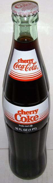 1985 Cherry Coke Glass Bottle by roitberg, via Flickr