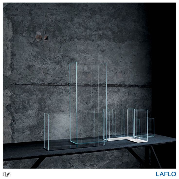 A series of vases made from extra light transparent glass from Glas Italia . . . . . #design #productdesign #designinspiration #product #productinspiration #chair #glasitalia #glasitaliadesign #intetiordesign #interiorinspiration #productoftheday #interiorstyling #pierolissoni #mirror #instagood #instadesign #instadaily #home #homedecor #homedecoration #qualityliving #art #artofdesign #findyourinnerexpression #LAFLO