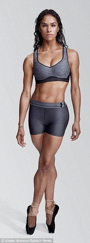 Gisele Bundchen, Misty Copeland and Lindsey Vonn flaunt their incredible abs as they promote new Under Armour sports bras that are 'made for womanhood' | Daily Mail Online