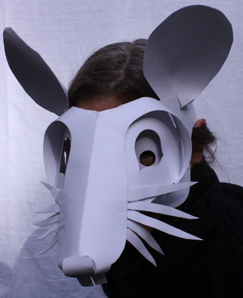 """mouse mask 2 cropped I remember seeing a child's drawing with a big red heart saying """"I love art because art makes people happy"""". Right then I thought, ..."""