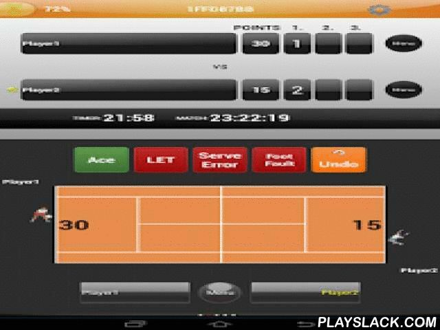 TennisTOUCH Live Tracker  Android App - playslack.com , It is suitable for players of any level, including recreational players and beginners. It's a helpful tool for coaches and young players who are just starting to put more effort intoprogress of their game.TennisTOUCH is an easy way to better analyze your game and to share that information privately or publicly with your peers.Do you wonder how efficient your tennis game really is? When you watch Grand Slams and ATP Tournaments with…