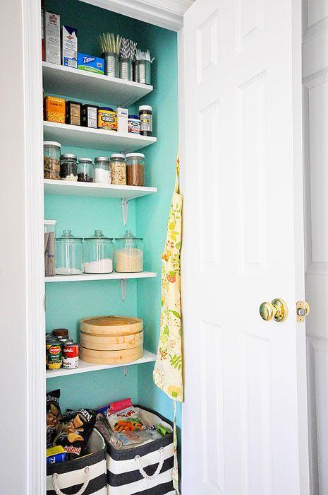Wooden Shelves Closet