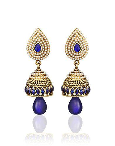 Amazing Indian Bollywood Gold Plated Blue Stone White Pea... https://www.amazon.com/dp/B01N6LYFOR/ref=cm_sw_r_pi_dp_x_OmYHybFYH36JY